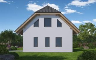 pohled domu